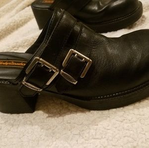 Harley Davison womans leather shoes